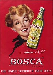 Anonimo - BOSCA CANELLI THE FINEST VERMOUTH FROM ITALY