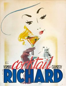 Bataille A. - VERMOUT COCKTAIL RICHARD – CHAMBERY