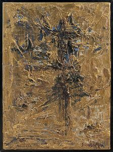 PINOT GALLIZIO & SOSHANA AFROYIM [] - Abstraction in Gold, 1959