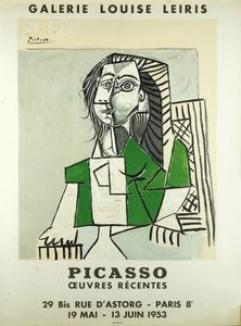 MANIFESTO - Picasso oeuvres récentes - Galerie Louise Leiris. 19 mai - 13 juin 1953