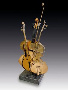 ARMAN [Nizza 17/11/1928 - New York 22/10/2005] - Violino, 1998