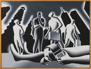 MARK KOSTABI [Los Angeles 27/11/1960] - Miscalculation, 1990