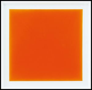 JORRIT TORNQUIST [Graz (Austria) 1938] - Orange borded jellow, 2018