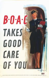 Worsley John - BOAC TAKES GOOD CARE OF YOU