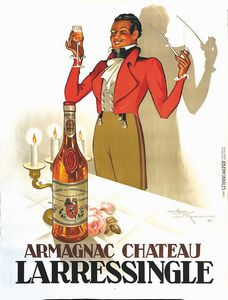 Le Monnier Henri - ARMAGNAC CHATEAU, LARRESSINGLE