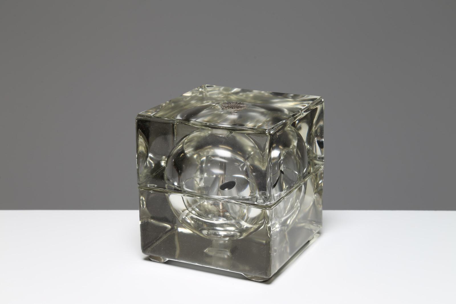 Lampade In Vetro Anni 70 : Lampadario vintage vetro anni applique lampada no led epoca ebay