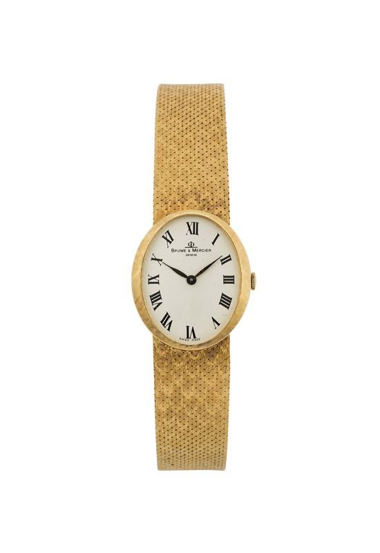 garanzia di alta qualità elegante nello stile abile design Piaget : BAUME & MERCIER, Geneve, Ref. 37043, orologio da ...