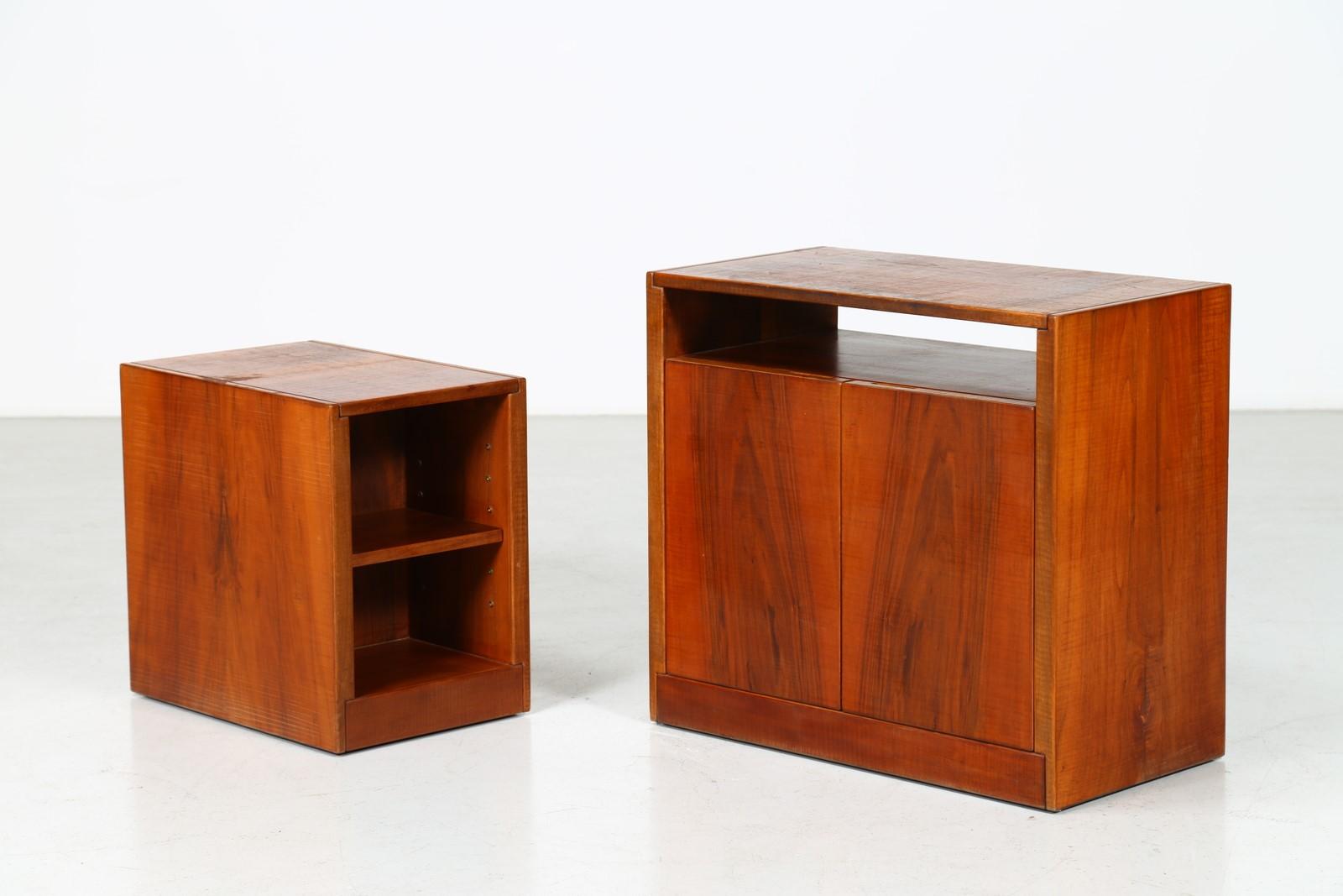 RIVADOSSI GIUSEPPE (n. 1935) : Due mobiletti da soggiorno ...