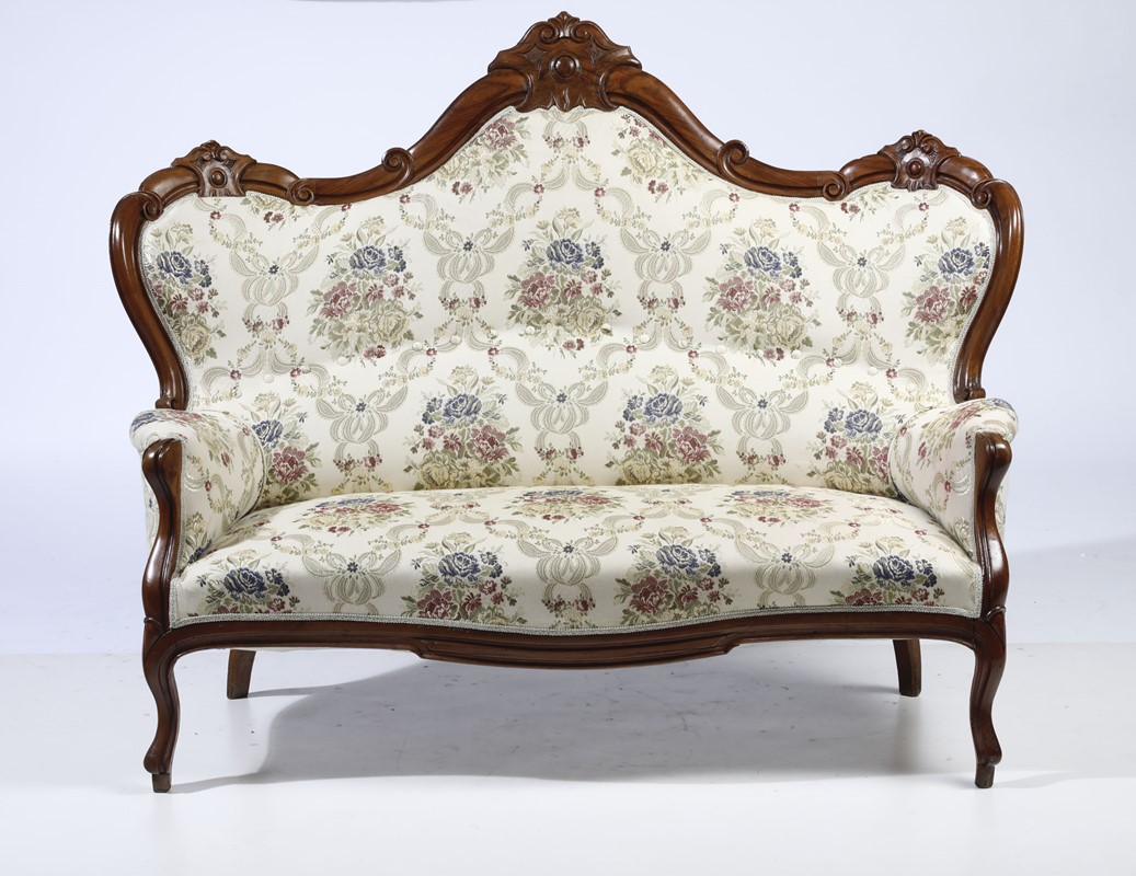 Divano E Poltrone Luigi Filippo salotto luigi filippo composto da divano e coppia di