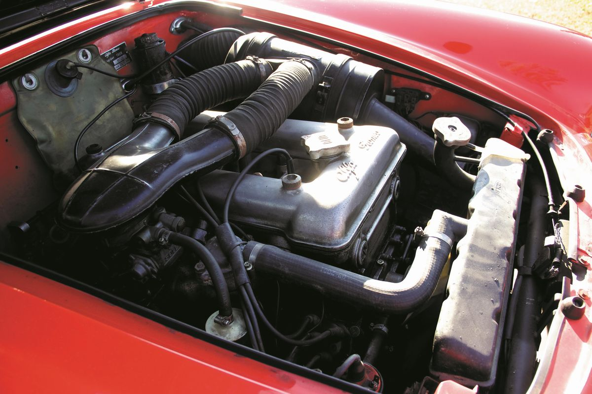 Alfa Romeo Giulia Spider 1600 1963 Auction Classic Cars Associazione Nazionale Case D Asta Italiane