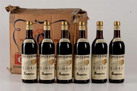 Giacomo Conterno, Barolo, Monfortino, riserva speciale 1968