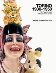 Calendario Aste Torino.Torino 1930 1950 Vent Anni Di Storia Della Ceramica